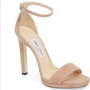 Preowned Jimmy Choo Misty Ankle Strap Sandals
